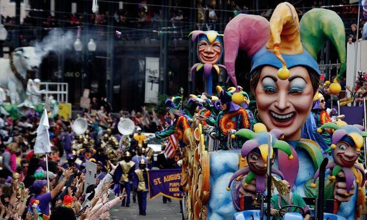 Mardi Gras, Karnaval Unik yang Ada di New Orleans